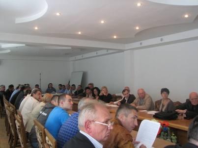 засідання Громадської ради при Львівському обласному управлінні лісового та мисливського господарства