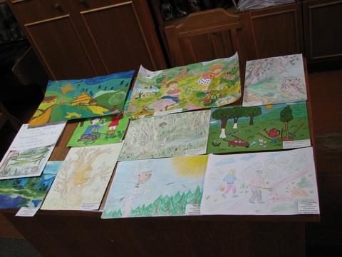 конкурс на кращий дитячий малюнок та твір за темою «Людина і ліс»
