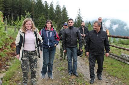 проект «Збереження Карпатських лісів»