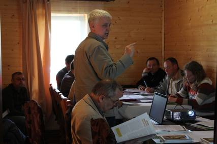 тренінг «Методичні основи описів старовікових лісів Карпатського регіону»