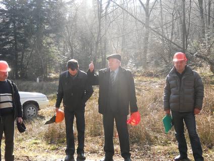 практичне навчання робітників лісозаготівельних бригад