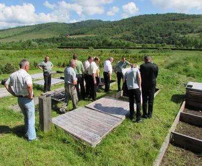 Виїзна координаційна рада в Крушельницькому лісництві