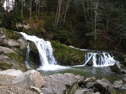 Водоспад на р. Кам'янка