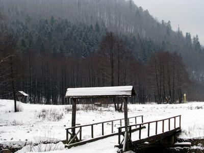 зима у Сколівських Бескидах